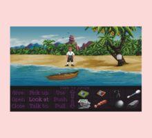 Finally on Monkey Island (Monkey Island 1) One Piece - Short Sleeve