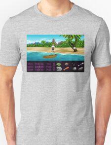 Finally on Monkey Island (Monkey Island 1) Unisex T-Shirt