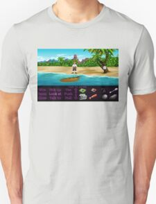 Finally on Monkey Island (Monkey Island 1) T-Shirt