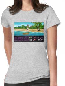 Finally on Monkey Island (Monkey Island 1) Womens Fitted T-Shirt
