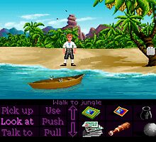 Finally on Monkey Island (Monkey Island 1) by themasrix