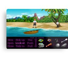 Finally on Monkey Island (Monkey Island 1) Metal Print
