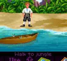 Finally on Monkey Island (Monkey Island 1) Sticker