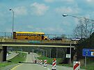 School Bus Construction by Nevermind the Camera Photography