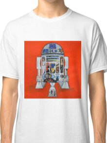 Smile at the robot  Classic T-Shirt