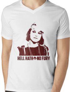 Hell Hath No Fury Mens V-Neck T-Shirt