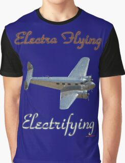 Electra Flying - Electrifying Graphic T-Shirt