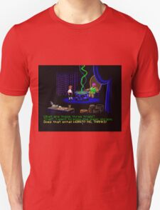 Asking about the Three Trials (Monkey Island 1) T-Shirt