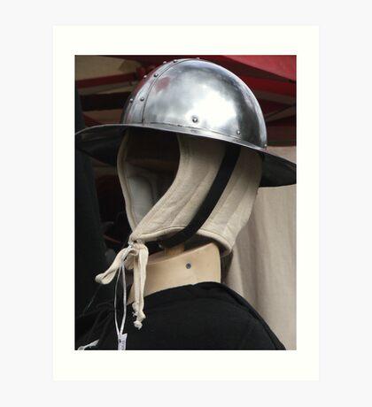 Traditional Helmet 2 Art Print