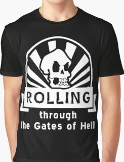 ROLLING through the Gates of Hell! (Murray - Monkey Island 3) Graphic T-Shirt