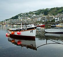 Mousehole Harbour ~ Cornwall by Susie Peek