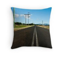 VAST (space 01) Throw Pillow