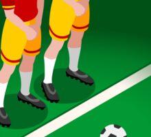 Football Team Player Sticker