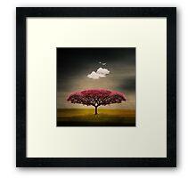 Medusa Cloud Framed Print