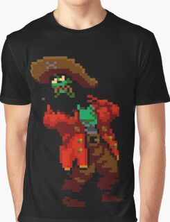 LeChuck's death (Monkey Island 2) Graphic T-Shirt