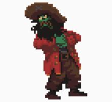 LeChuck's death (Monkey Island 2) One Piece - Long Sleeve