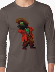 LeChuck's death (Monkey Island 2) Long Sleeve T-Shirt