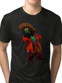 LeChuck's death (Monkey Island 2) Tri-blend T-Shirt