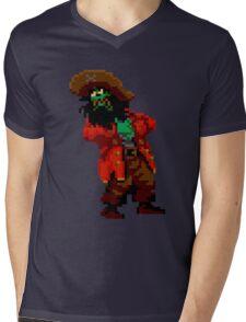 LeChuck's death (Monkey Island 2) Mens V-Neck T-Shirt