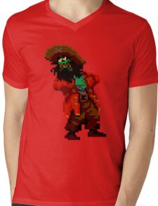 LeChuck's death (Monkey Island 2) Mens V-Neck T-Shirt
