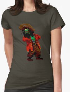 LeChuck's death (Monkey Island 2) Womens Fitted T-Shirt