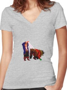 LeChuck's panties (Monkey Island 2) Women's Fitted V-Neck T-Shirt