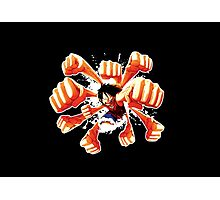 Luffy One Piece Combo Photographic Print
