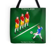 Football Team Player Tote Bag
