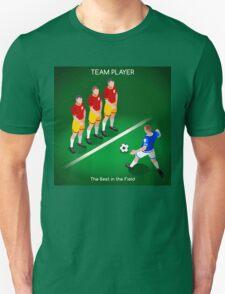 Football Team Player Unisex T-Shirt