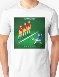 Football Team Player Unisex T-Shirt