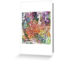 London map  Greeting Card