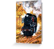 Steam Engine J541 Greeting Card