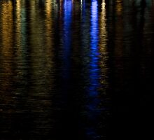 Zurich night lights by George Mikhalev