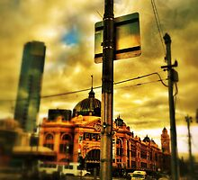 Flinders Street Station by sebastian