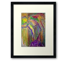 Color study- warm and bright Framed Print