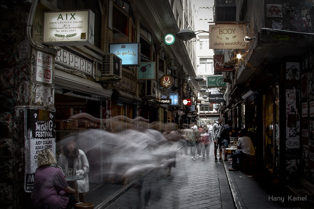 Hazy Days in The City  by Hany  Kamel