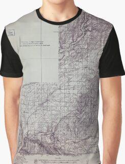USGS Topo Map Washington State WA Wallulah 244524 1915 96000 Graphic T-Shirt
