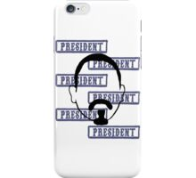Marcus President collage iPhone Case/Skin
