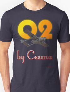 O2 by Cessna -Design T-Shirt