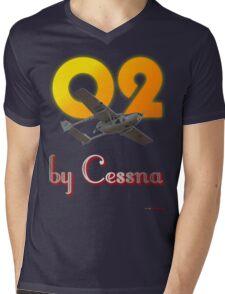 O2 by Cessna -Design Mens V-Neck T-Shirt