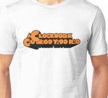 A Clockwork CMYK Orange Unisex T-Shirt