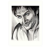 Richard Armitage, charming Lee Art Print