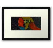 A woman waiting for nothing  Framed Print