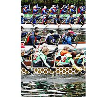 Dragon boats! Photographic Print