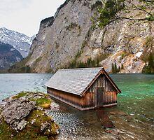 Boathouse by Béla Török