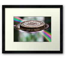 The Colour of Money Framed Print