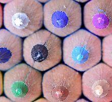 Coloured Pencils by Nigel Bangert