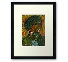 woman, woman Framed Print