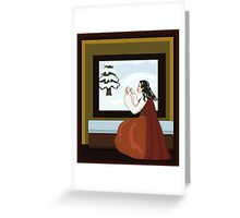 Snow White's Mother Greeting Card