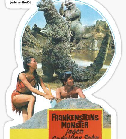 Frankensteins Monster Sticker
